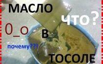 Почему и каким образом масло попадает в тосол?