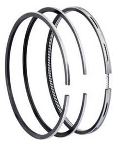 Маслосъемное кольцо с пружиной