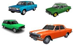 Автомобили отечественного производства и масло к ним