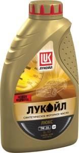 Синтетическое масло Лукойл