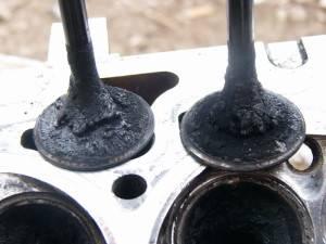 Осадок на клапанах