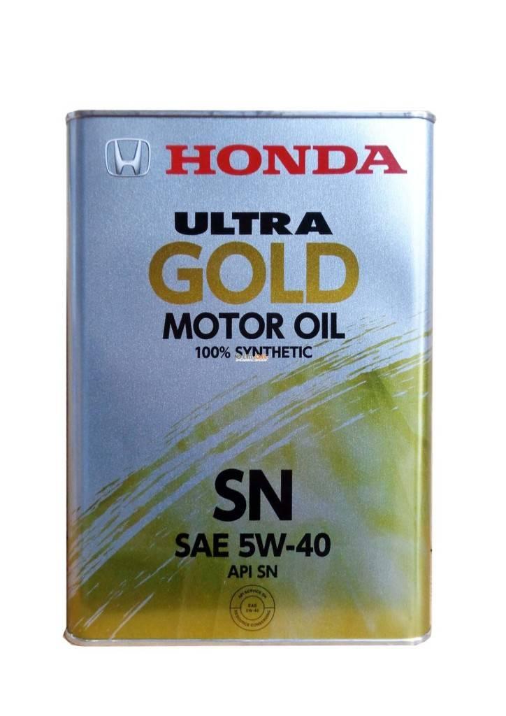 Моторная смазка Ультра Голд Хонда 5w40