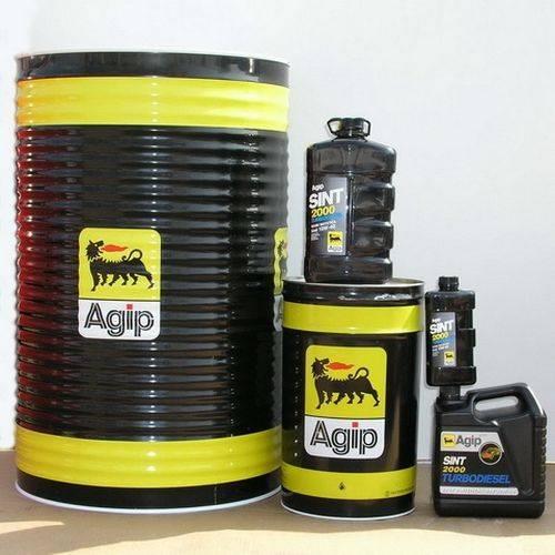 Продукция Аgip для автомобиля