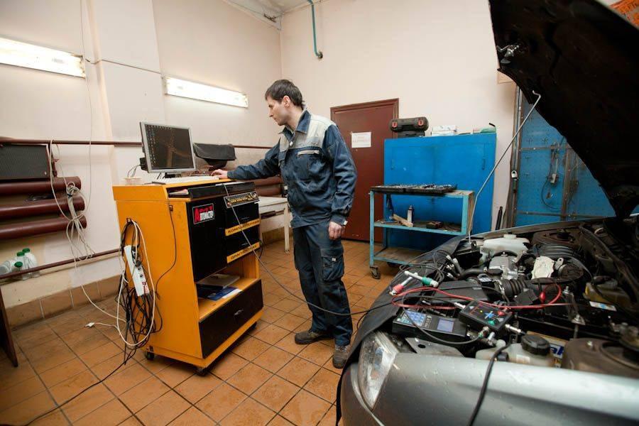 При проблемах необходимо сделать диагностику мотора