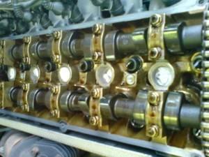 Состояние деталей двигателя после использования mobil 1