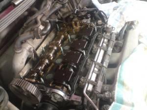 Демонстрация состояния деталей мотора