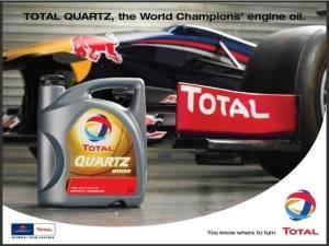 Total Quartz для гоночных каров