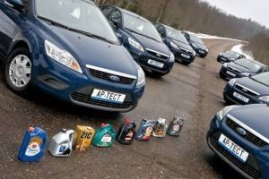 Выбор масла для автомобиля