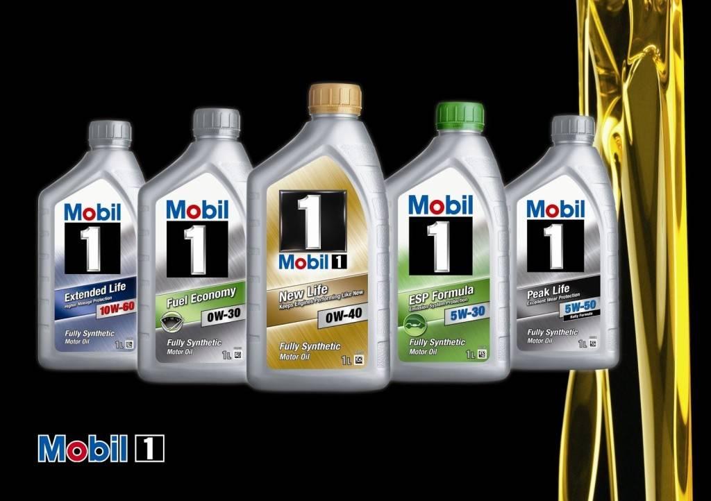 Моторные жидкости Мобил 1