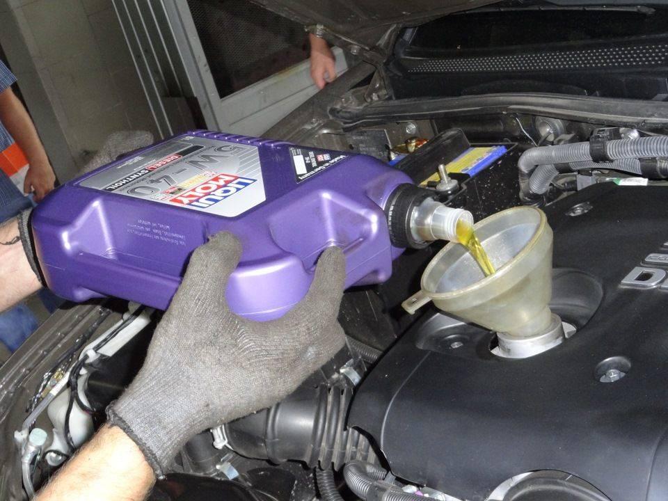 Смазка для дизельного двигателя
