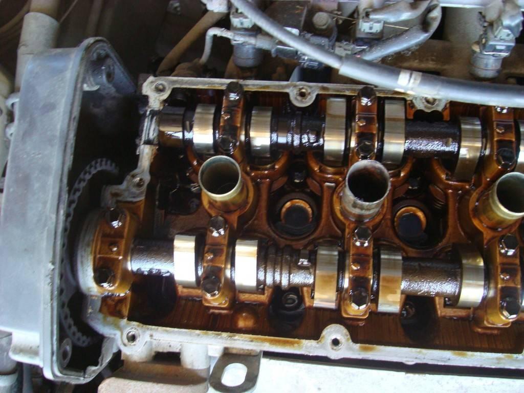 Состояние внутренних деталей мотора