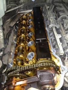 Замасленный мотор