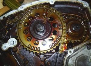 Смазанный двигатель