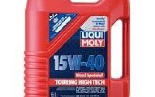 Моторное масло 15w40