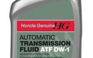 Обзор масла Honda atf z1