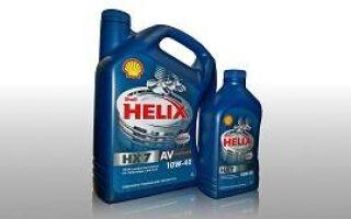 Характеристики масла shell 10w40
