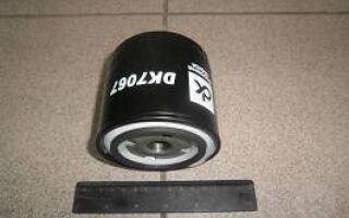 Как заменить масляный фильтр на ВАЗ 2110?