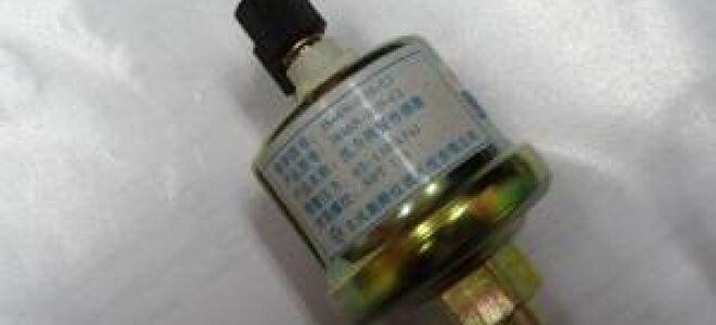 Замена датчика давления масла в КамАЗе и других авто