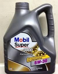 Продукция mobil super 3000 x1 категории formula fe 5w 30