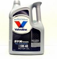 Масло Valvoline Synpower 5w40