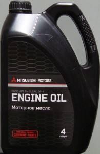 Моторное масло Митсубиси 0w30